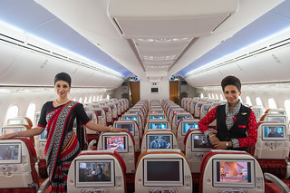 Air India 787-8 economy class | by Traveloscopy