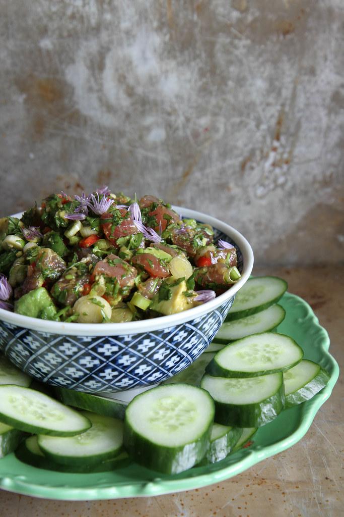 Asian Tuna Tartar