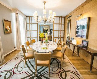 Paris - Royal Monceau - Presedential Suite - Dining Area