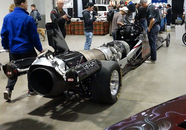 Neale Armstrong's Jet Drag Racer