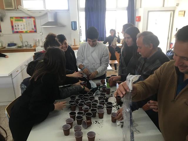 Σχολικός Λαχανόκηπος - Γυμνάσιο Κιτίου Λάρνακας - Φεβ17