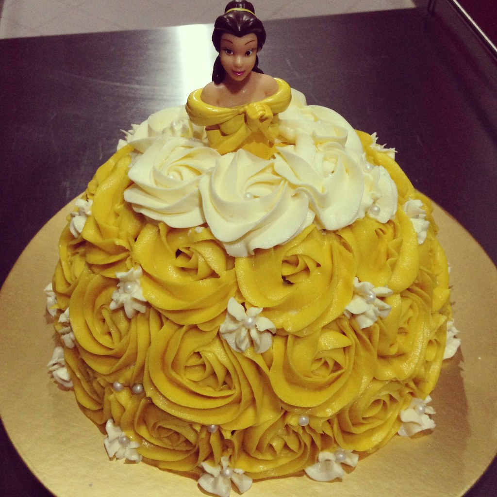 Princess Belle Doll Cake Maria By Angmorish Jojo