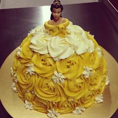 Princess Belle Doll Cake Maria disney disneyprincess Flickr