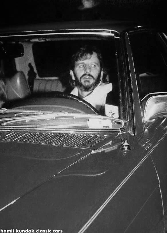 Ringo Starr Richard Starkey Mercedes Benz 500 SLC C107 1980 1981