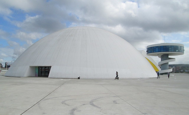 Dome and Tower, Oscar Niemeyer Centre