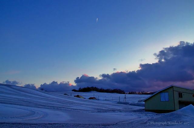 融雪剤の丘2