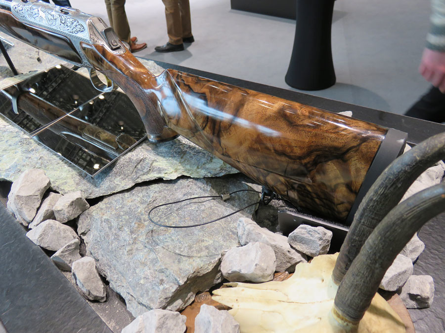 iwa 2017  sauer 404 customs rifles