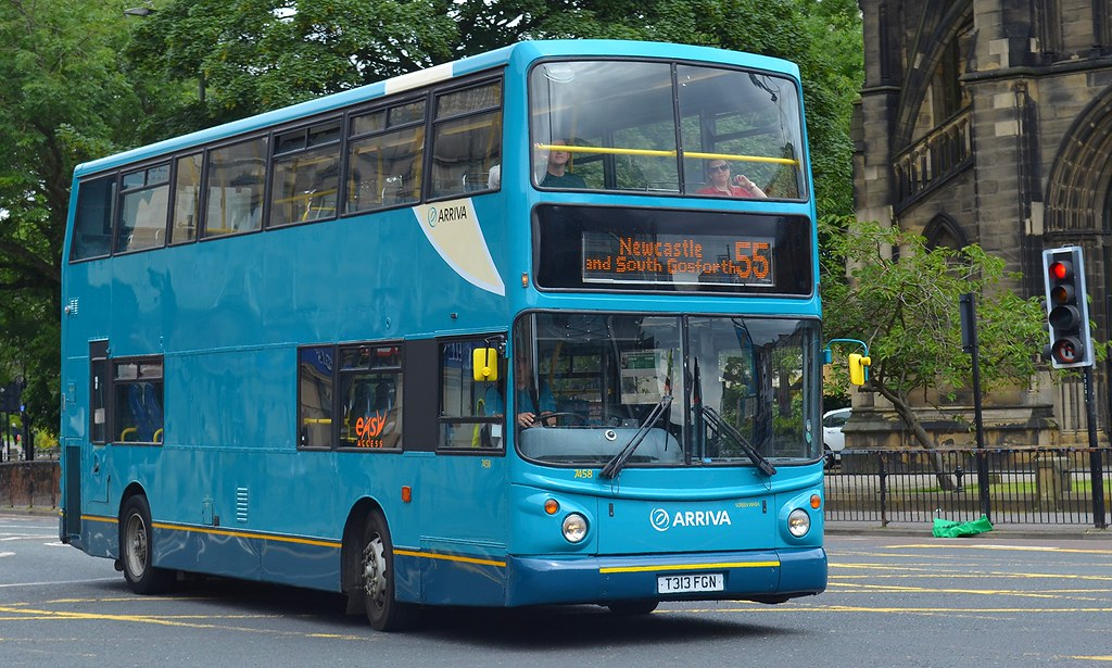 ... Arriva North East: 7458 / T313FGN | by danielgrahamm