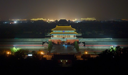 Forbidden City by night [故宫] | by daveonhols