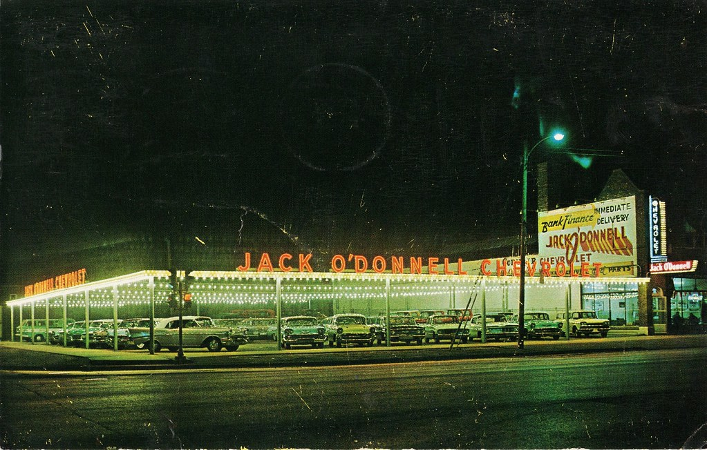 Jack O'Donnell Chevrolet, Midlothian IL, 1960s | 147th and C ...