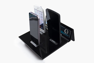 i4+ Tablet Holder Black | by IDAPT