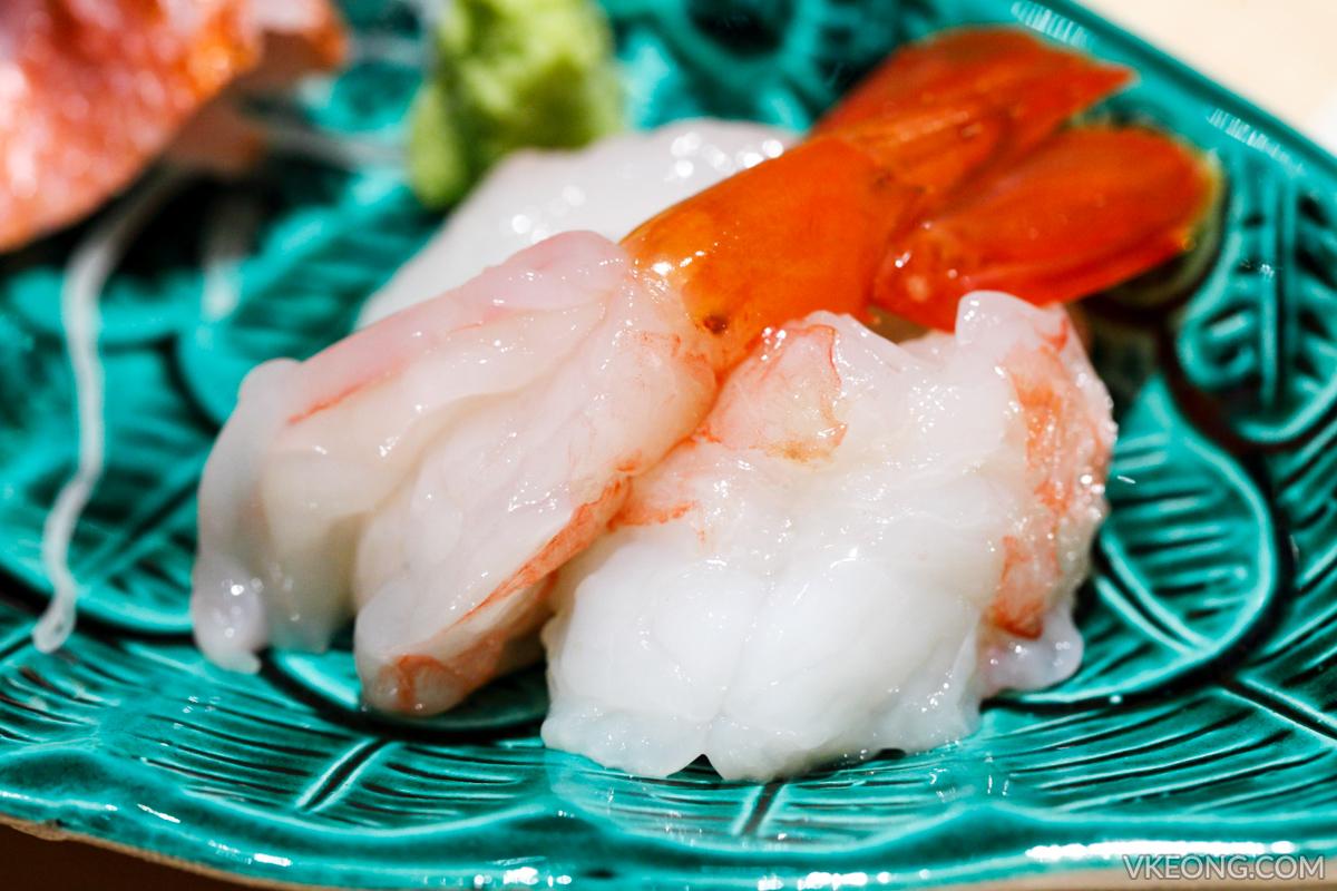 Sushi Azabu Jumbo Ebi Sashimi