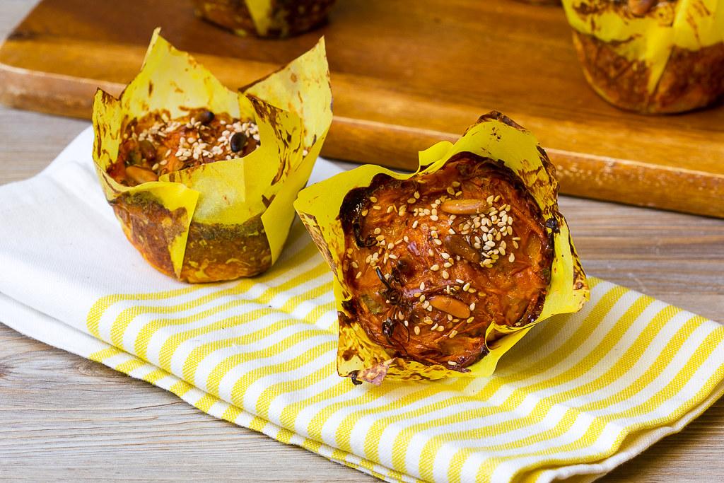 Süßkartoffelmuffins via lunchforone
