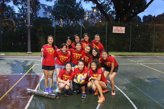 Best Friends! Back: May Ning (Y2), Natalie (Y2), Sabrina (Y2), Mei Shuen (Y3) Middle: Siu Ming (Y3), Tan Su (Y1), Rachel Ang (Y1), Fang Yi (Y2), Belle (Y2), Joanelle (Y1) Front: Melissa (Y2), Chu Yech (Y2), Rachel Ng (Y1)