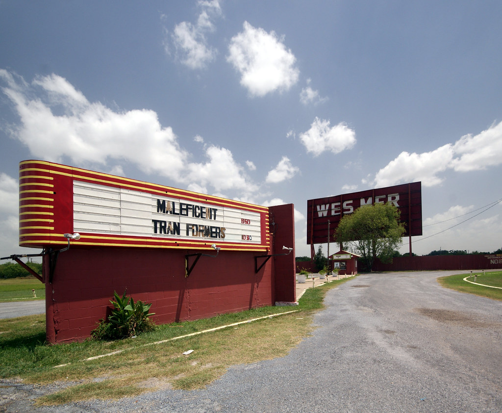 Wes Mer Drive In Theater Mercedes Tx