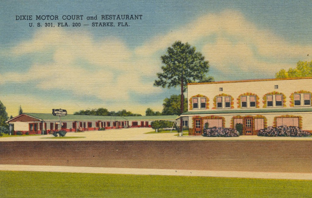Dixie Motor Court and Restaurant - Starke, Florida