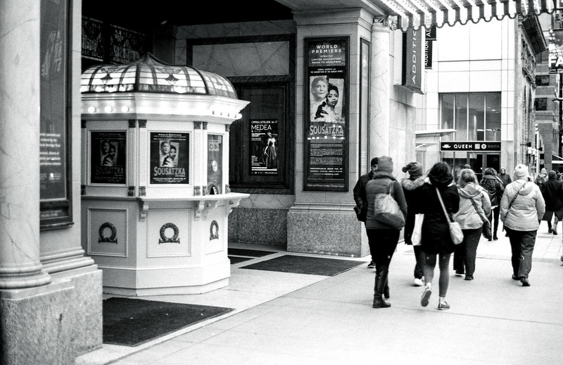 Past the Elgin Box Office