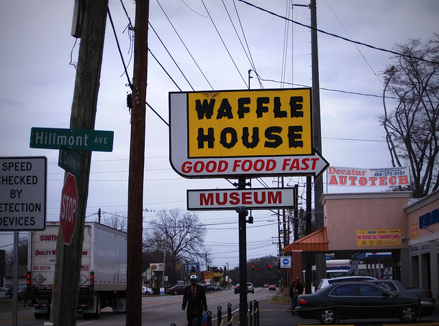 Where in the world is the original Waffle House