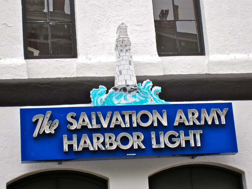 ... Salvation Army Harbor Light, Portland, OR | By Robby Virus