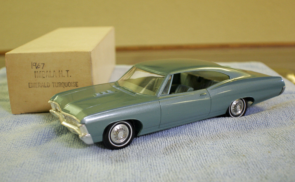 1967 Chevrolet Impala SS 427 Sports Coupe Promo Model Car … | Flickr