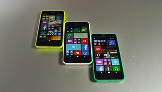 Nokia Lumia 635 in different colours | by n.bhupinder