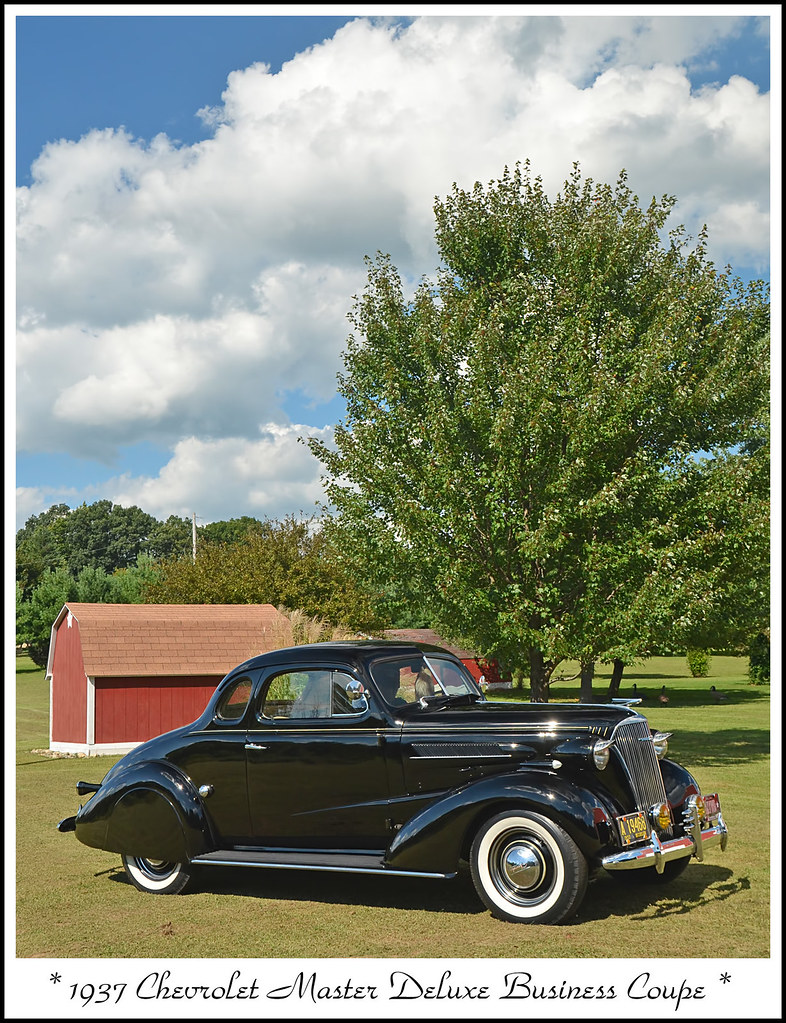 1937 Chevrolet Master Deluxe Business Coupe   Photographed a…   Flickr