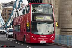 Alexander Dennis Trident Enviro 400 - LJ60 AUV - T170 - Arriva - Tower Bridge London - 140923 - Steven Gray - IMG_9579