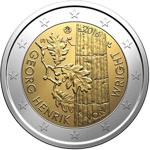 2 Euro Fínsko 2016, Georg Henrik von Wright