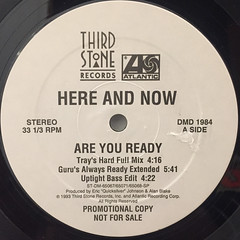 HERE AND NOW:ARE YOU READY(LABEL SIDE-A)