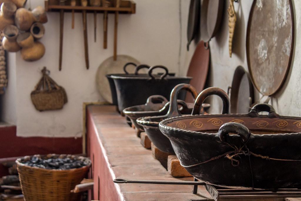 Cocina mexicana antigua | Cocina ubicada en el Museo del Vir… | Flickr