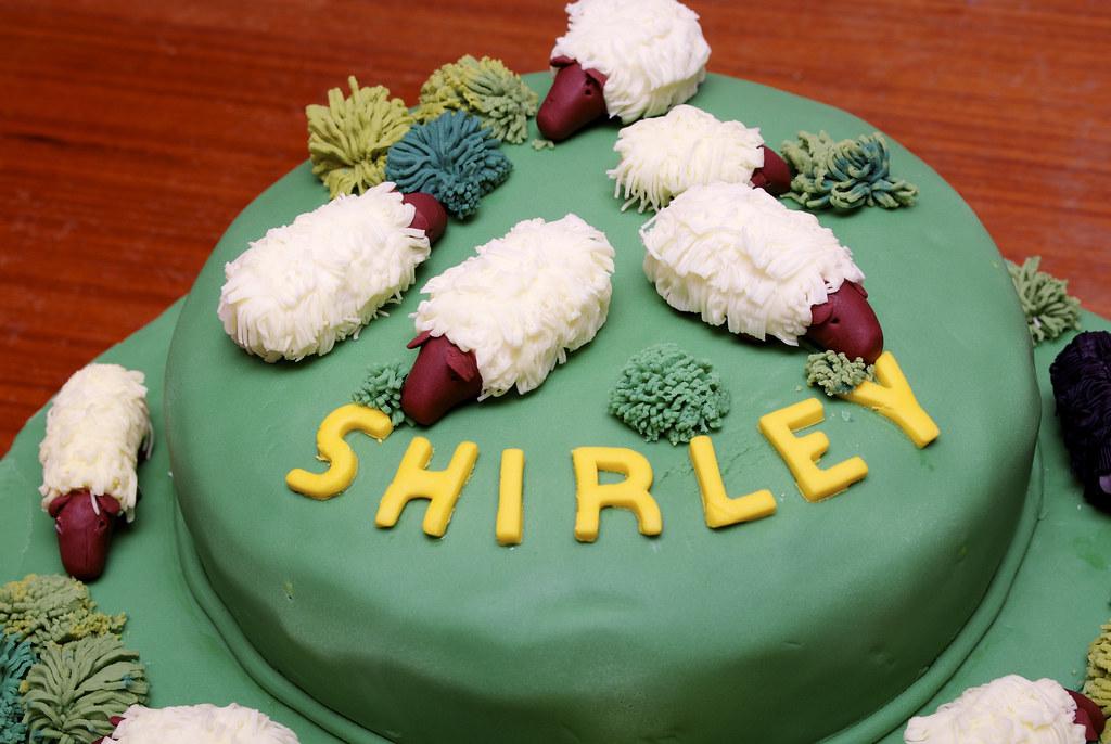 Sheep Birthday Cake Sheep Birthday Cake Janeolds1 Flickr