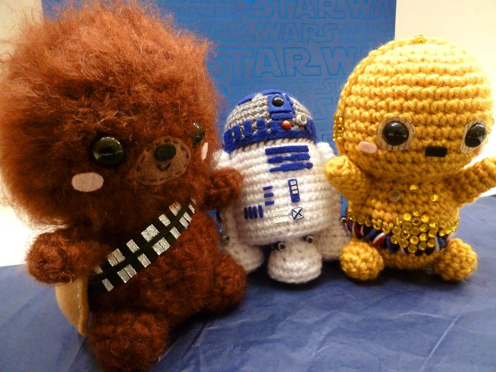 Amigurumi Star Wars : Chewbacca amigurumi star wars chewbacca chewie r d u flickr