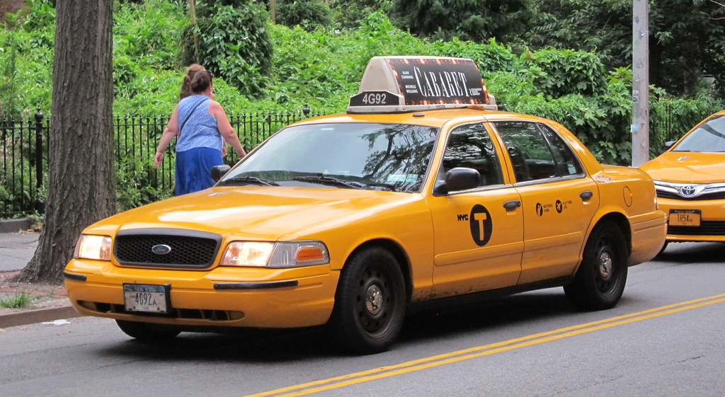 Nyc Taxi Ford Crown Victoria Flickrfriday By Jack Cao Jack