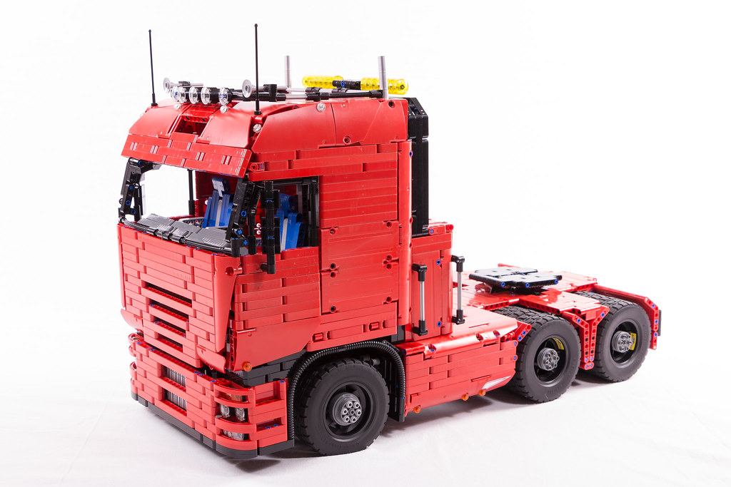 Lego Technic Tractor Truck Lucio Switch Flickr