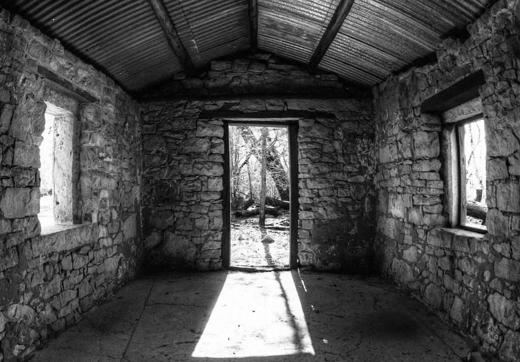 Inside Old Farmhouse