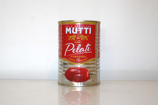 08 - Zutat geschälte Tomaten / Ingredient peeled tomatoes