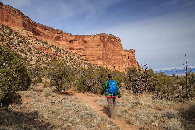Gold Star Canyon Hiker