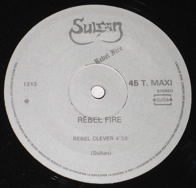 """SULTAN - REBEL FIRE / REBEL CLEVER / POWER OF FIRE 12"""" MAXI"""