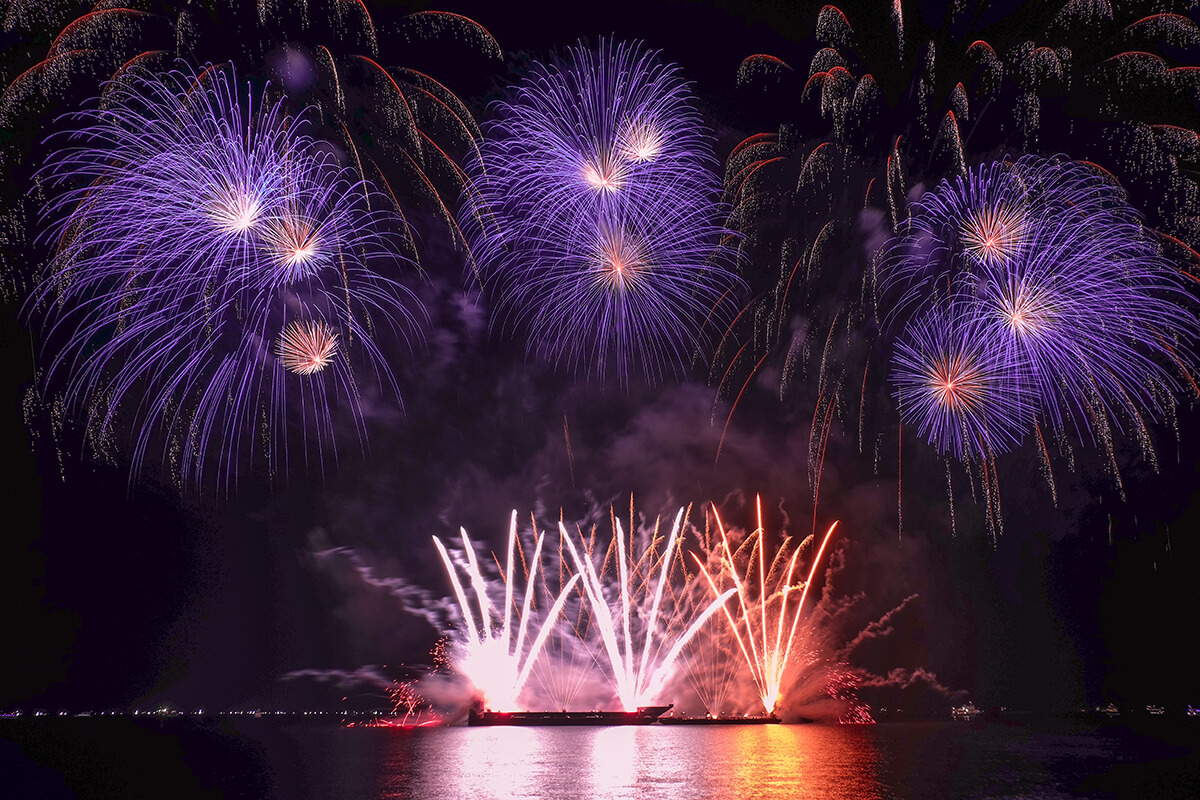 Philippine International Pyromusical Competition 2017