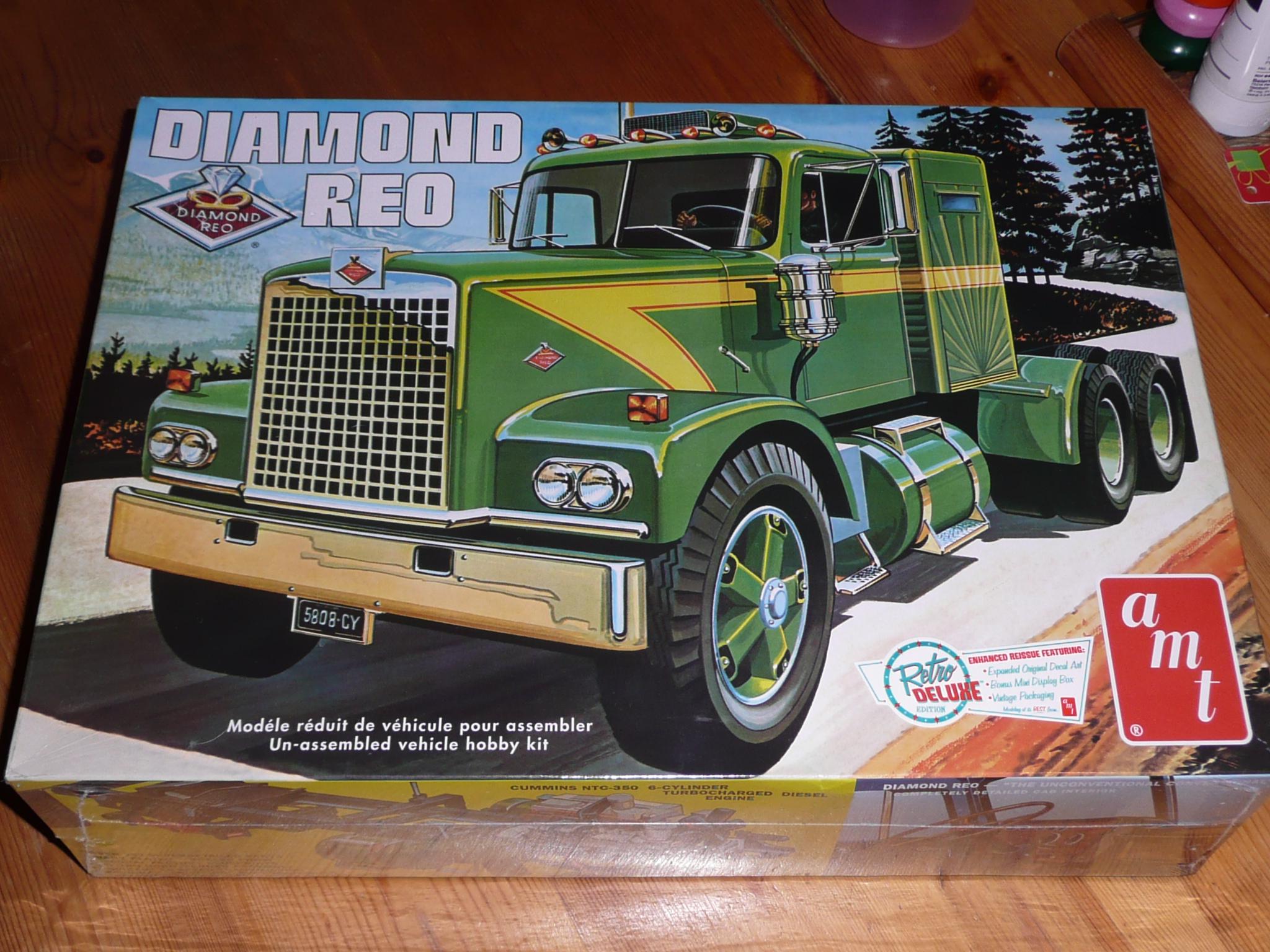 [Déterrage] Wolf Truck sur base de Diamond Reo AMT au 1/24 32908205316_7104962f3d_k