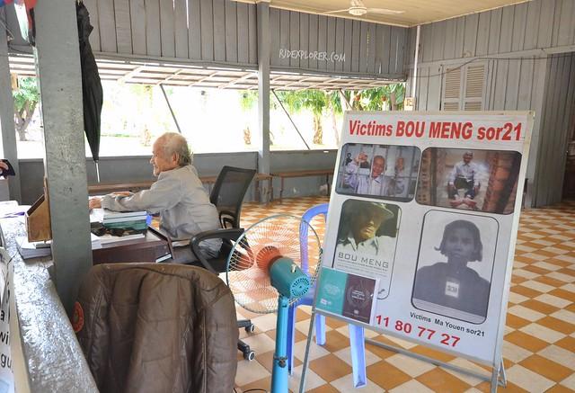 tuol sleng genocide museum survivor bou meng