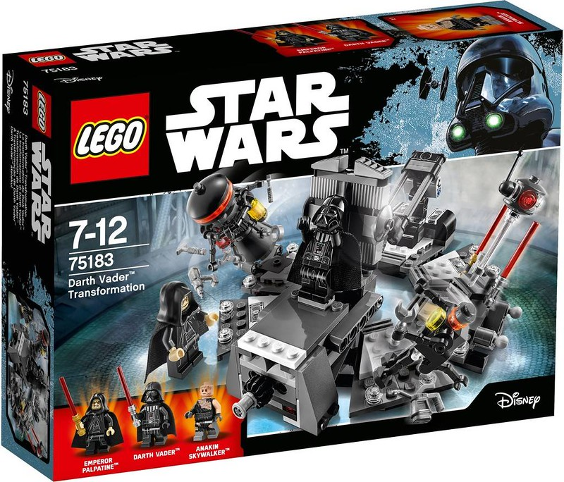 LEGO Star Wars Estate 2017 - Darth Vader Transformation (75183)