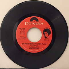 JAMES BROWN:MY PART:MAKE IT FUNKY(RECORD SIDE-B)