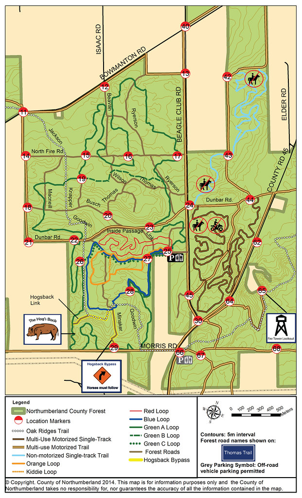 Beagle Club Trail Map