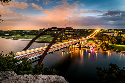 Austin 360 Bridge (Pennybacker Bridge) | by BrianDooley.com