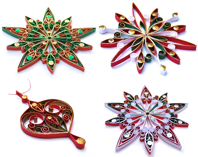 ... Quilled Christmas Ornaments | by all things paper - Quilled Christmas Ornaments Created By Victoria Brewer Of €� Flickr