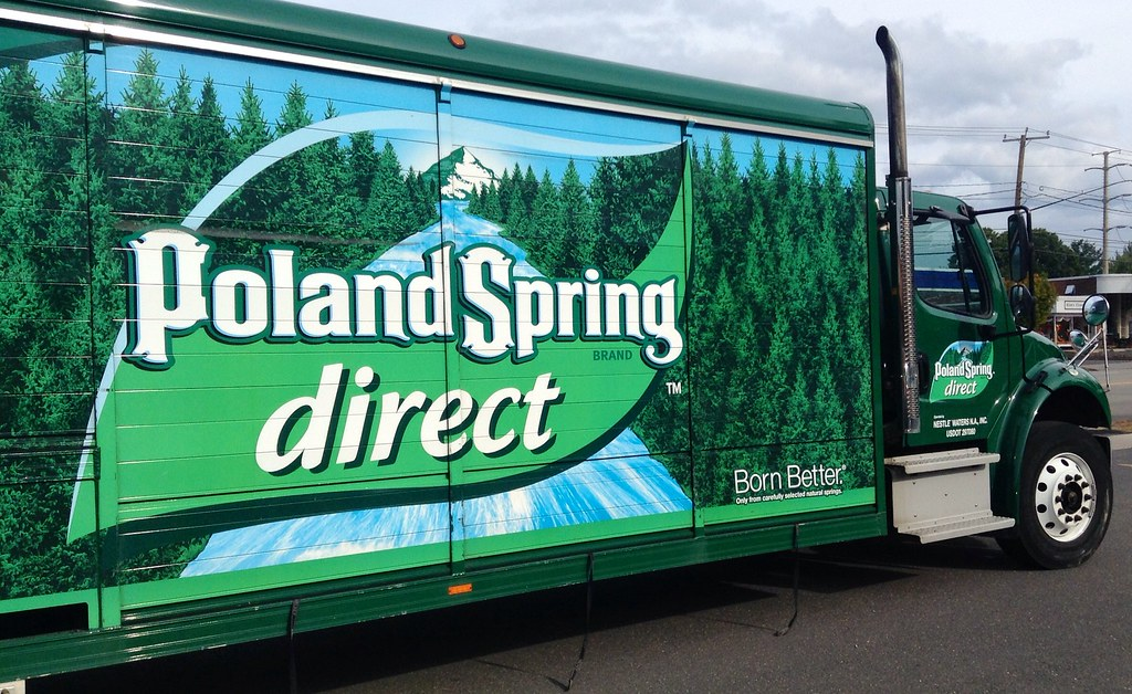 Lawsuit Claims Poland Spring Water Doesn't Really Come From Springs