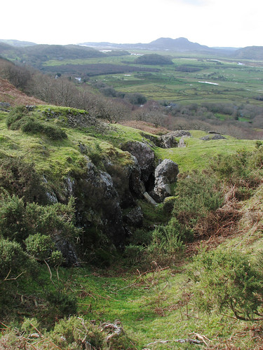 Lead mine near Rhyd