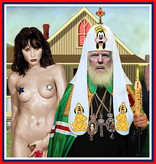 American (?) Gothic: Naaah, just Covfefe... | by Alfonso LXVIX