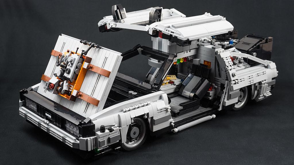 LEGO - Back to the future / Delorean